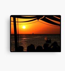 Lienzo Sunset @ Café del Mar 3
