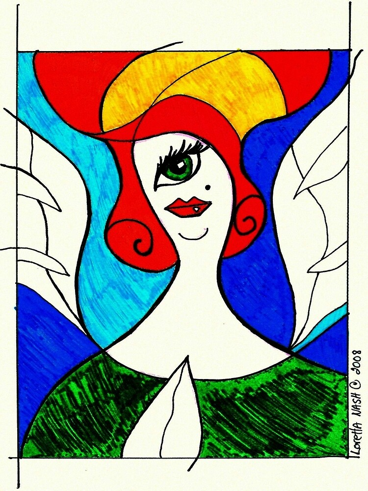 Angel 2008 by Loretta Nash