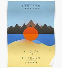 Childish Gambino's STN MTN/KAUAI (artwork) Poster