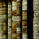 Columns - Whitby Abbey by NUNSandMoses