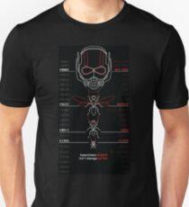 Ant-Man Team Roster Design T-Shirt