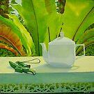 Morning Tea, oil on canvas, 2006. by fiona vermeeren
