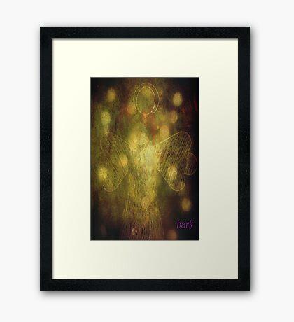 Hark Framed Print