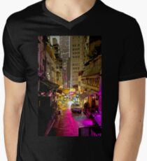Hong Kong Alley Men's V-Neck T-Shirt