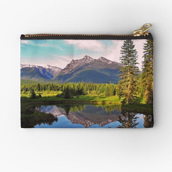 Montana Cabinet Mountains Zipper Pouch