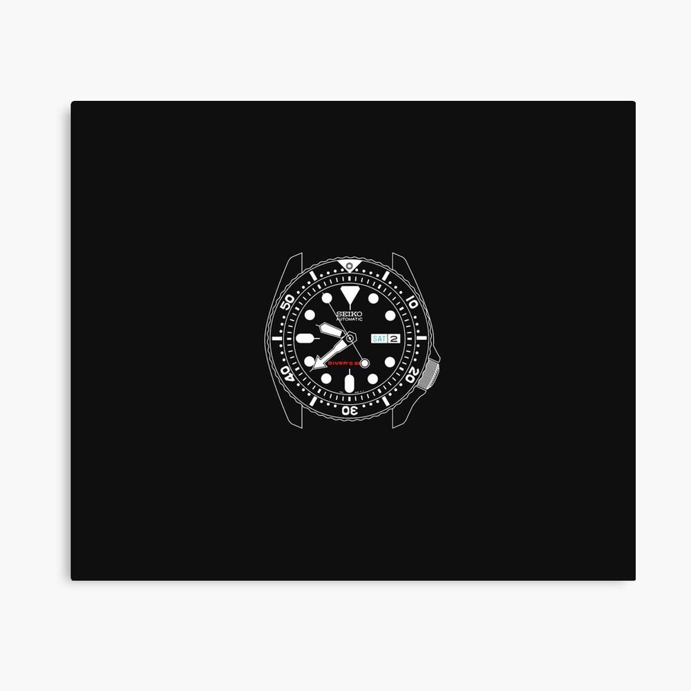 Seiko Skx Automatic Watch Canvas Print