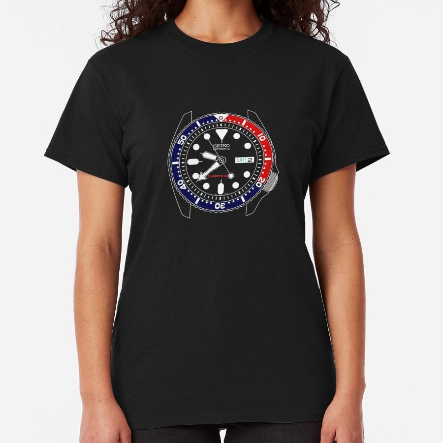 Seiko Pepsi Skx Automatic Watch Classic T-Shirt