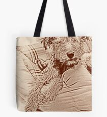Sleepy head Tote Bag