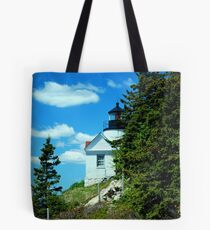 Different POV of Bass Cove Light Tote Bag