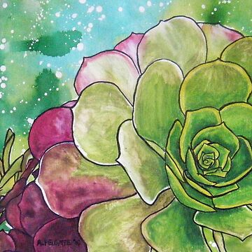 Succulent Rose by aixie