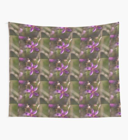 Purple Calytrix Wall Tapestry
