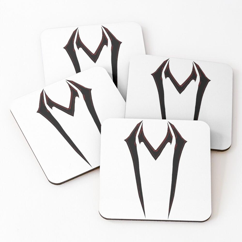Violin Shredder Logo Coasters (Set of 4)