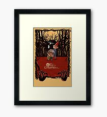 Retro 30s Over the Garden Wall ™ Framed Print
