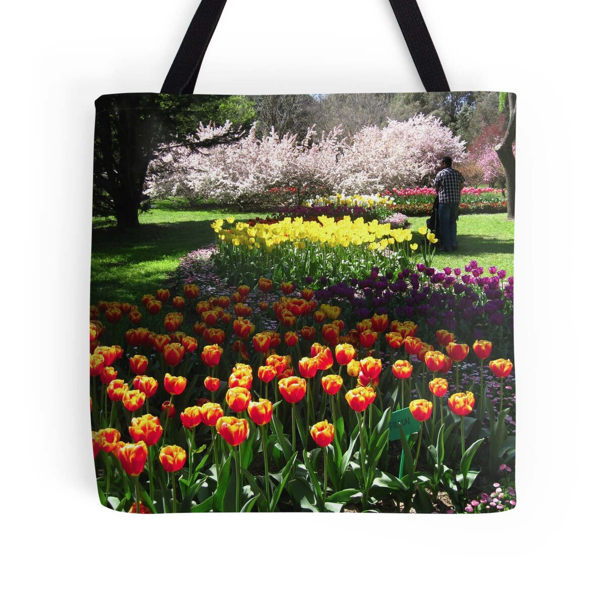 Baby Gifts Canberra Australia : Quot tulip time in canberra australia p tote bags by