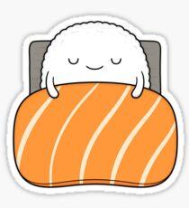 Sleepy Sushi Bed Sticker