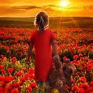 Poppies by Cliff Vestergaard