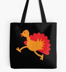 A Turkey bird RUNNING! Tote Bag