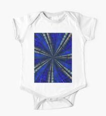 Psychedelic Blue One Piece - Short Sleeve