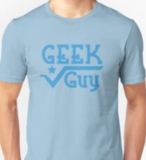 Geek Guy cute nerdy geek design for men Unisex T-Shirt