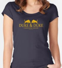 Duke and Duke Women's Fitted Scoop T-Shirt
