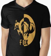 FoxHound logo Men's V-Neck T-Shirt