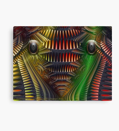 Ruler of the Dark Canvas Print