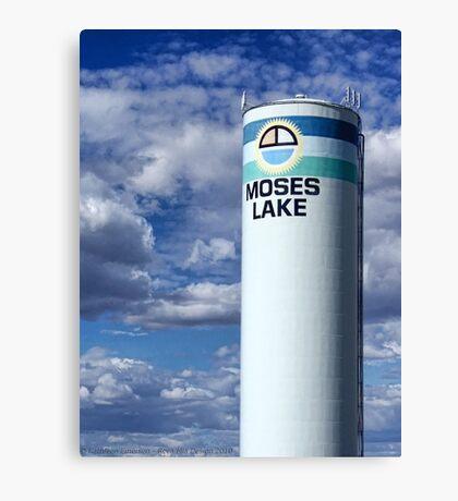 Water Tower (Moses Lake, Washington, USA) Canvas Print