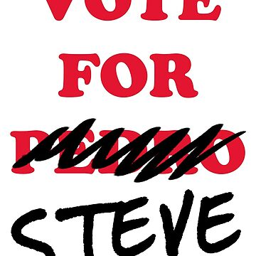 VOTE FOR STEVE by periphescence