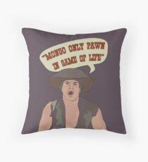 MONGO ONLY PAWN Throw Pillow