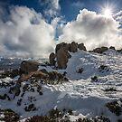Mt Wellington Snow, Tasmania #3 by Chris Cobern