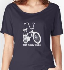 This Is How I Roll - Retro Bicycle Women's Relaxed Fit T-Shirt