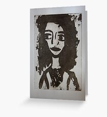 Doll Face 1 Greeting Card