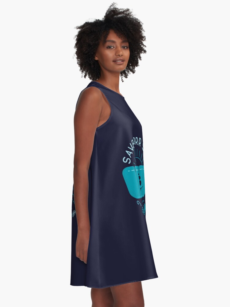 Alternate view of Save Arrr Seas A-Line Dress