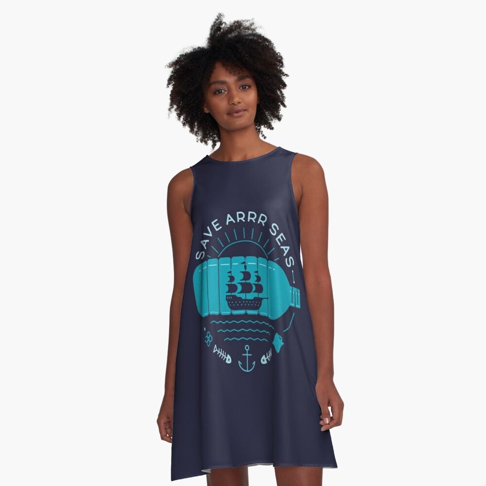 Save Arrr Seas A-Line Dress