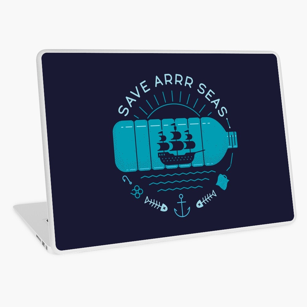 Save Arrr Seas Laptop Skin