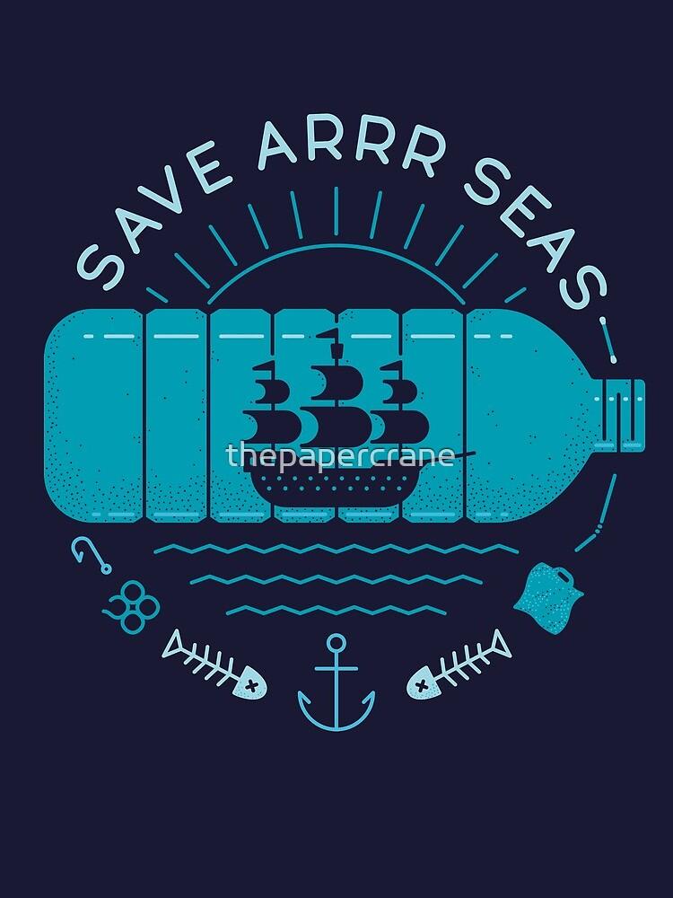 Save Arrr Seas by thepapercrane