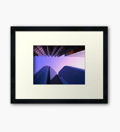 Hong Kong Giants Framed Print