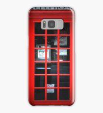 Red British Telephone Box copy Samsung Case Samsung Galaxy Case/Skin
