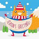 Winter Fox by studiowun