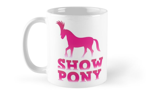 Show pony by jazzydevil