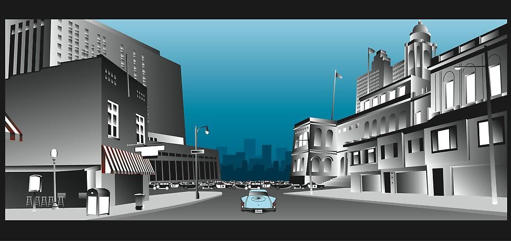 the city by Grigoris Kalivas