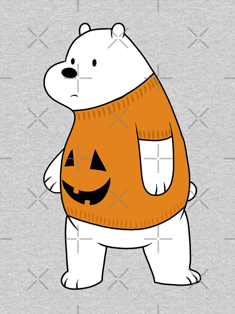 We Bare Bears - Ice Bear - Halloween by ValentinaHramov
