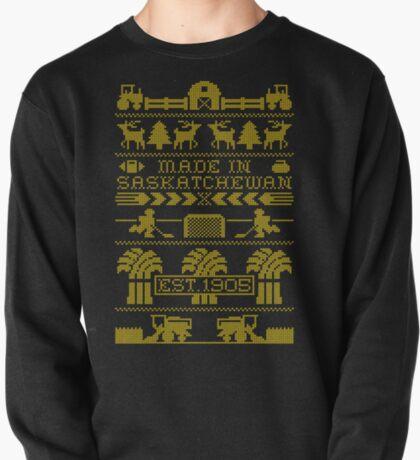 Saskatchewan Ugly Sweater (Yellow) T-Shirt