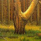 the old tree by edisandu