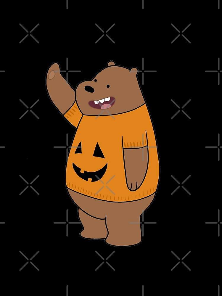 We Bare Bears - Grizzly - Halloween by ValentinaHramov