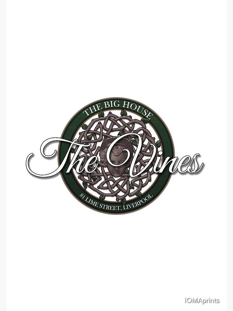 The Vines Logo 002 by IOMAprints