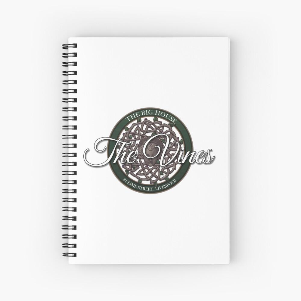 The Vines Logo 002 Spiral Notebook