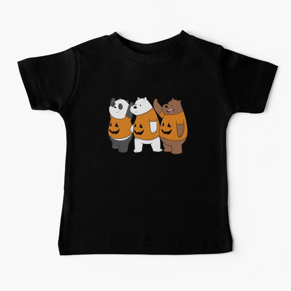 We Bare Bears -  Halloween Baby T-Shirt