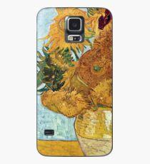Vincent Willem Van Gogh Sunflowers Case/Skin for Samsung Galaxy