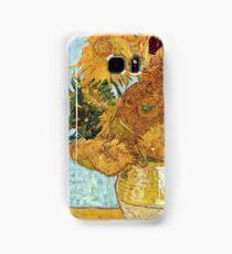 Vincent Willem Van Gogh Sunflowers Samsung Galaxy Case/Skin